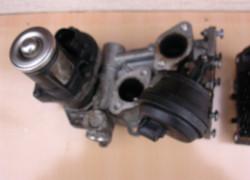 EGR ventil na motor 1,6 TDi s FAP filtrom