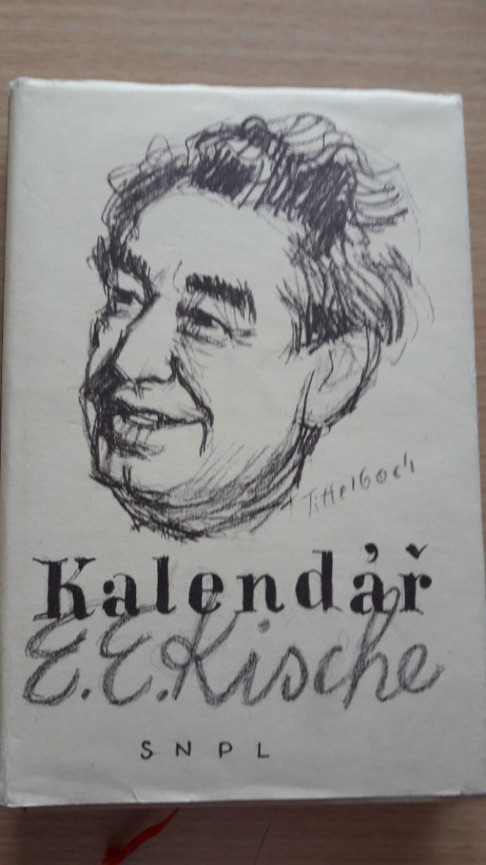 Kalendář Egona Erwina Kische