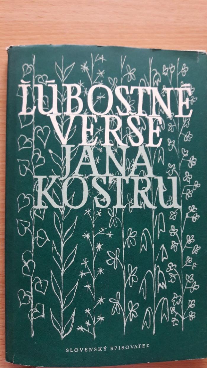 Ján Kostra: Ľúbostné verše