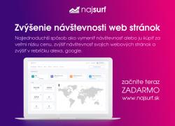 Zvýšenie návštevnosti web stránok - zadarmo