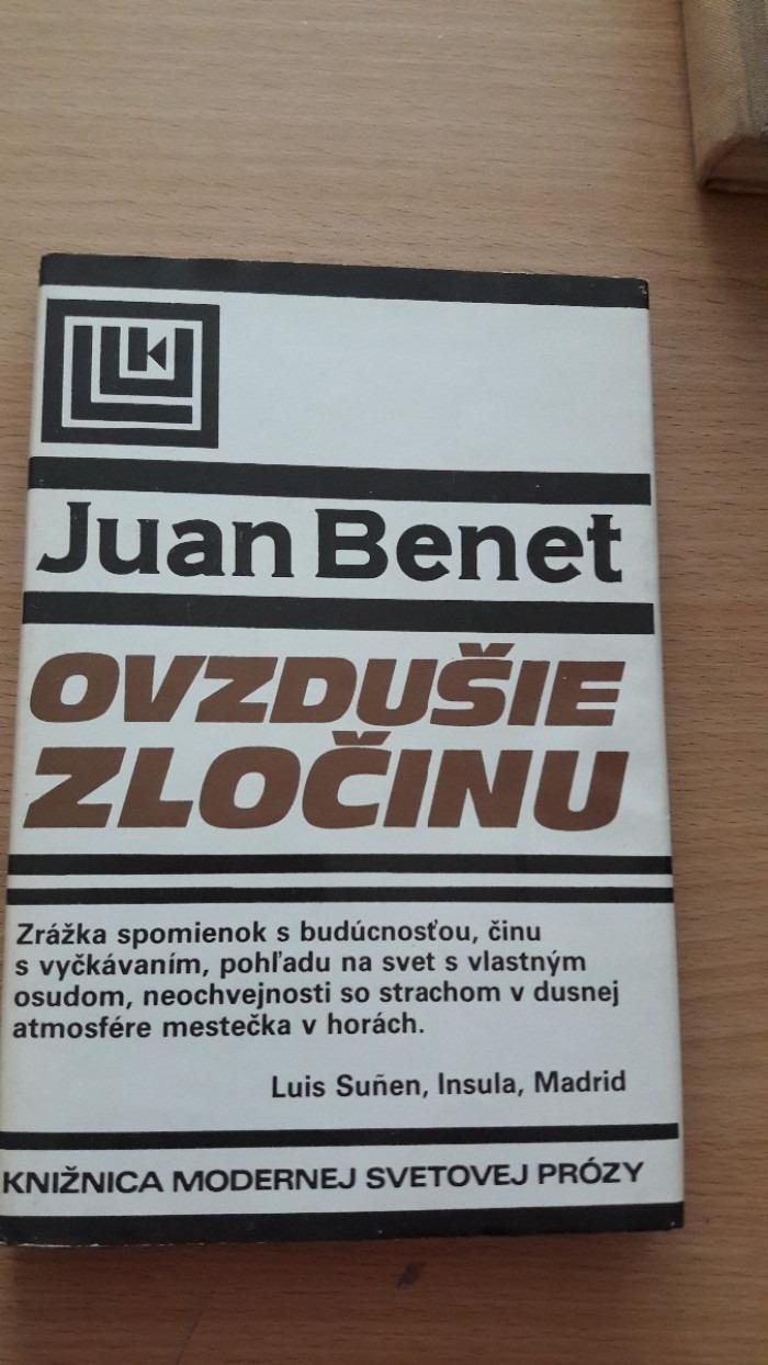 Juan Benet: Ovzdušie zločinu