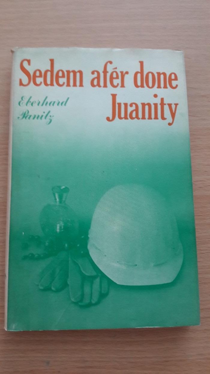 Eberhard Panitz: Sedem afér done Juanity
