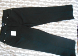pánske nohavice - džínsy Identic, čierne