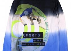 Chlapčenské tričko - dlhý rukáv