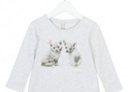 Dievčenské tričko - tunika