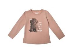 Dievčenské tričko - dlhý rukáv