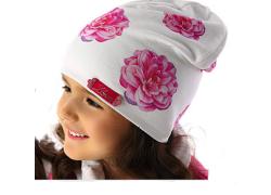 Bavlnená čiapka - PIWONIA