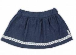 Riflová sukňa