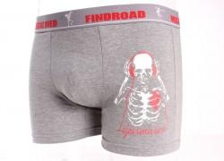 Pánske boxerky FINDROAD (H7275) - sivé veľkosť 3XL