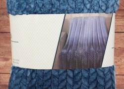 Deka dúhová s potlačeným vzorom SENDIA (150x200 cm) - modrá veľkosť 150x200 cm