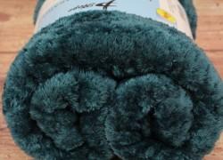 Deka flísová s potlačeným vzorom PHOPE (150x200 cm) - šmaragdovo zelená veľkosť 150x200 cm