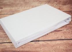Prestieradlo na posteľ (200x200 cm) LILY DECO - biele  veľkosť 200x200 cm