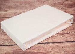 Prestieradlo na posteľ (200x200 cm) SENDIA - krémové veľkosť 200x200 cm
