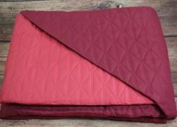 Posteľný prehoz (240x160 cm) - červeno-bordový veľkosť 240x160 cm