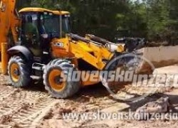 minibager traktorbager bager kladivo podny vrtak kontajener