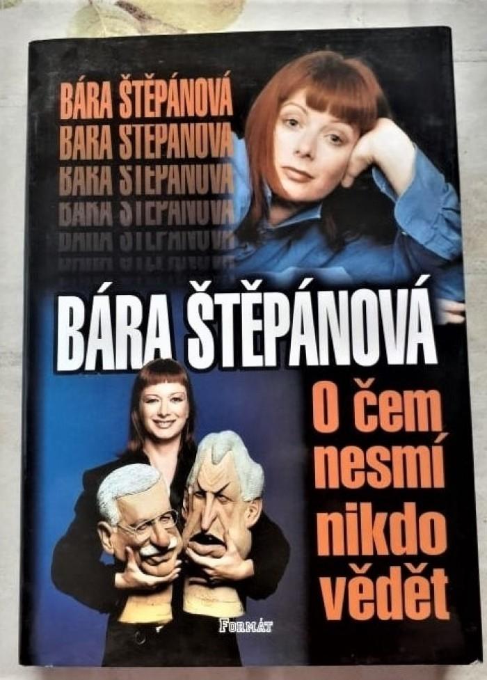 Lacno predam Bara Stepanova O cem nesmí nikdo vedet 1,90 €