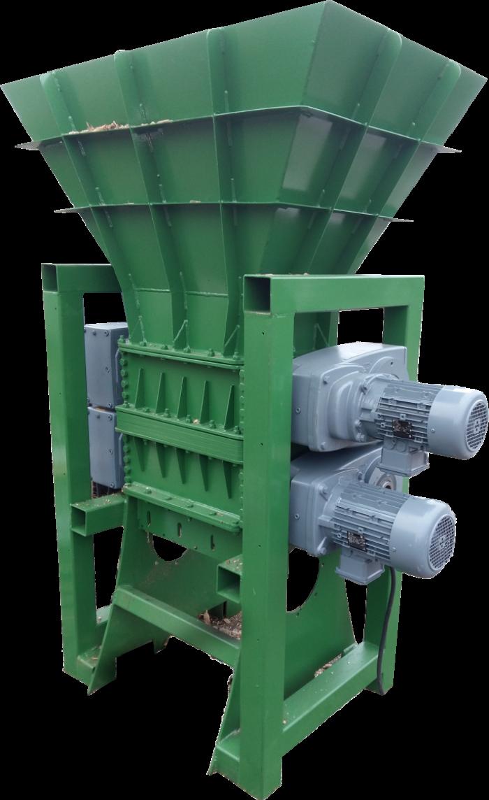 DRVIČ/DRTIČ PROFI 600  30kW – drevo, palety, plast, kov a iné