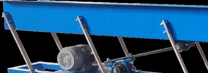 Vibračný/podávací dopravník PD3 1,5 (3m) 1,5 kW