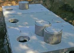 Betónová žumpa, nádrže na vodu, požiarne nádrže