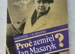 Petr Kettner, I. M. Jedlicka Proc zemrel Jan Masaryk? 0,50 €