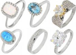 Prstene z bieleho zlata Korai bez t