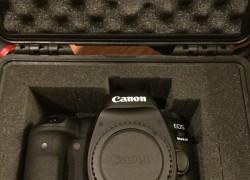 Klasický fotoaparát Canon EOS 5D - ultrazvukové filtre na šošovky - blesky - blesk - 28 - 135 mm