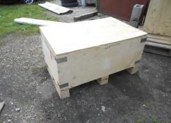 drevené prepravné boxy