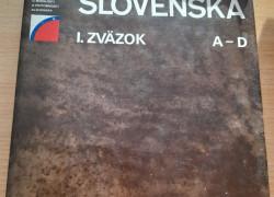Encyklopédia Slovenska, I. zväzok,  A-D
