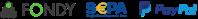 Prijímame platby online SEPA, platobná brána FONDY a PayPal